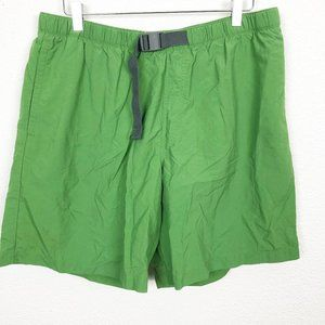 Columbia Mesh Lined Green Shorts L